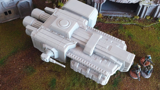 Corvus Games Terrain 3D printed DX 120 Light Freighter scenery piece for Star Wars Legion