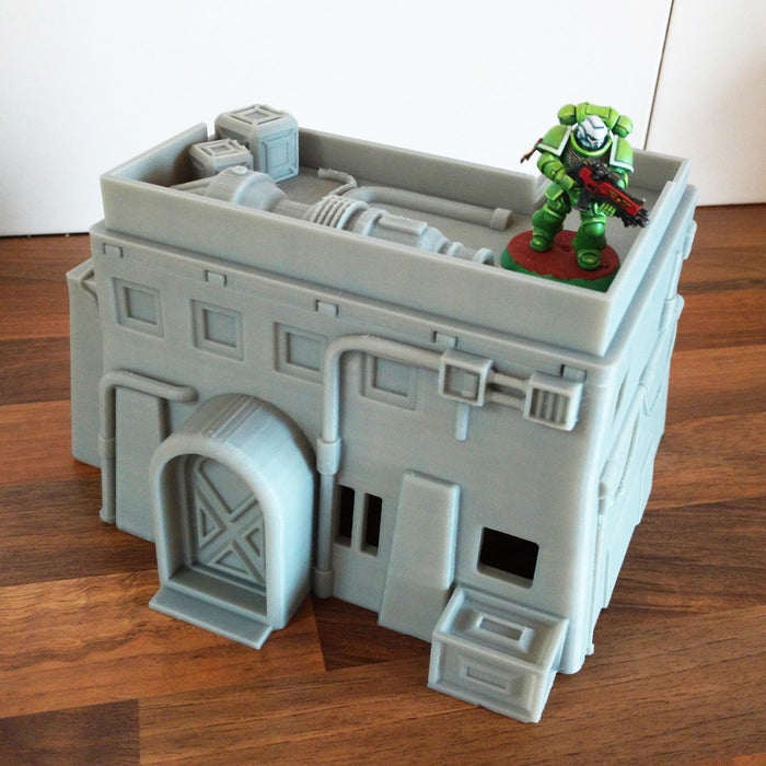 Corvus Games Terrain 3D printed Desert Town House for Star Wars Legion miniature wargame
