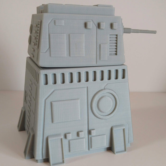 Corvus Games Terrain 3D printed Turbo Laser Turret for Star Wars Legion