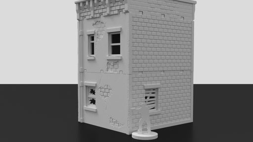 Corvus Games Terrain 3D printed scenery for post apocalyptic games like The Walking Dead, Last Days, Project Z, This Is Not A Test and other 28mm tabletop wargames