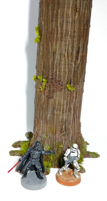 Corvus Games Terrain 3D printed tall trees for Endor boards for Star Wars Legion