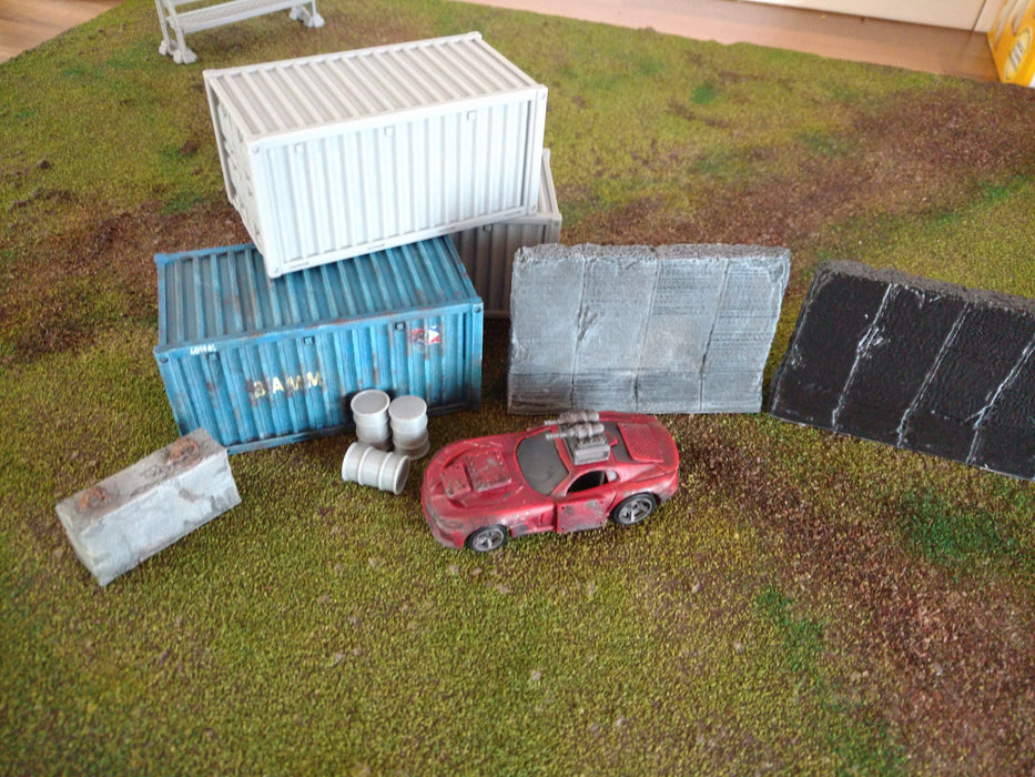 Corvus Games Terrain 3D printed terrain for Gaslands, Star Wars Legion, Warhammer 40K and Infinity