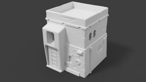 Corvus Games Terrain 3d printable Pilgrim House Jedha for Star Wars Legion