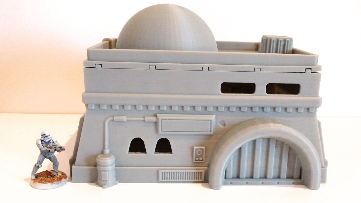 Corvus Games Terrain 3d printed Desert Cantina for Star Wars Legion