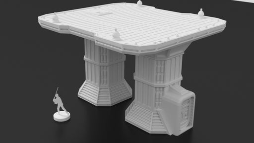 Corvus Games Terrain 3d printed Landing Pad for Star Wars Legion