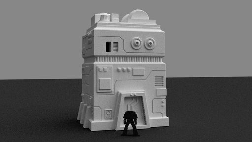 Corvus Games Terrain Imperial Building for Star Wars Legion as a 3d Printable STL