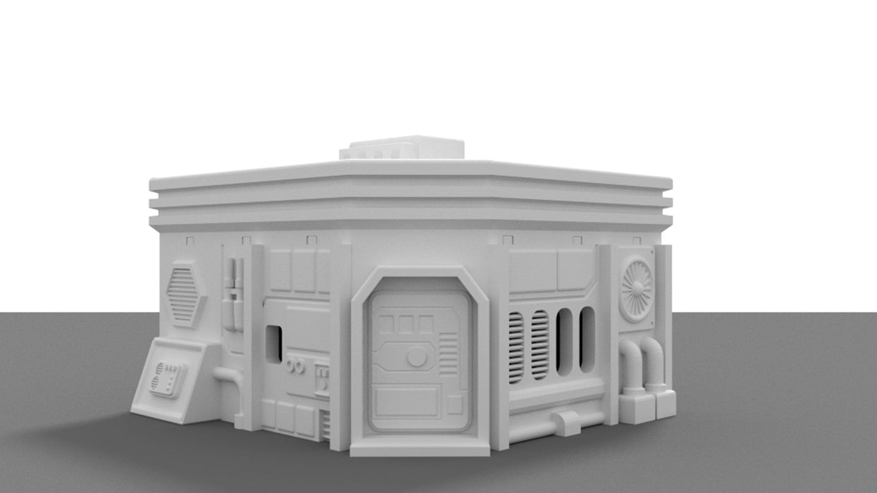 City Medium House 3D printable