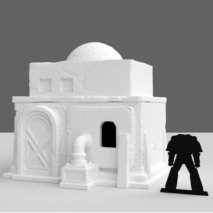 Star Wars Legion Small Desert House Terrain STL 3D printed