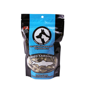FLASH DEAL: Dried Sardines - 150g (DAY 7) - Only One Treats
