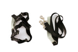"Freedom Harness, No Pull Dog Harness & Leash Combo 1"" Wide - Medium - Black - Only One Treats Canada Wholesale Bulk"