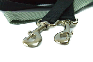 "Freedom Harness, No Pull Dog Harness & Leash Combo 1"" Wide - Medium - Black - Only One Treats"