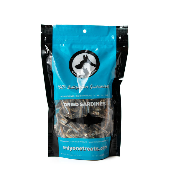 Dried Sardines - 150g - Only One Treats