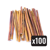 "12"" Standard Natural Beef Bully Stick - Case of 100 - Only One Treats Canada Wholesale Bulk"