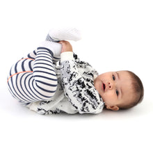 White Knitted Baby Sweater