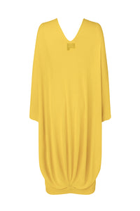 Yellow Seamless Oversized Dress