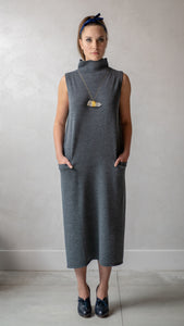 Grey Seamless Dress