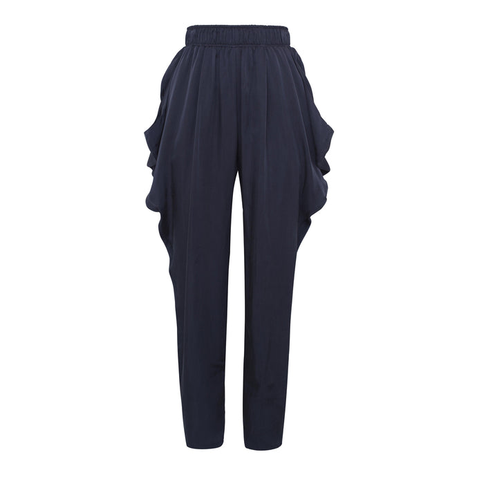 Navy Pocket Trousers