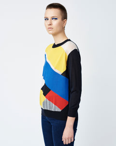 Colorful Intarsia Sweater