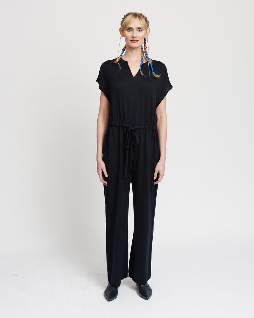Navy Jumpsuit