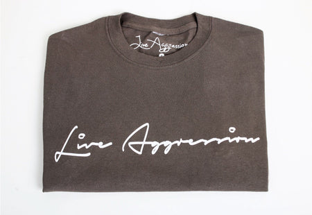 "T-Shirt: ""Logo Print"" by Live Aggression"