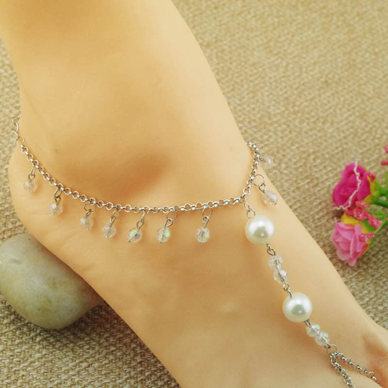 Pearl Foot Chain Anklet