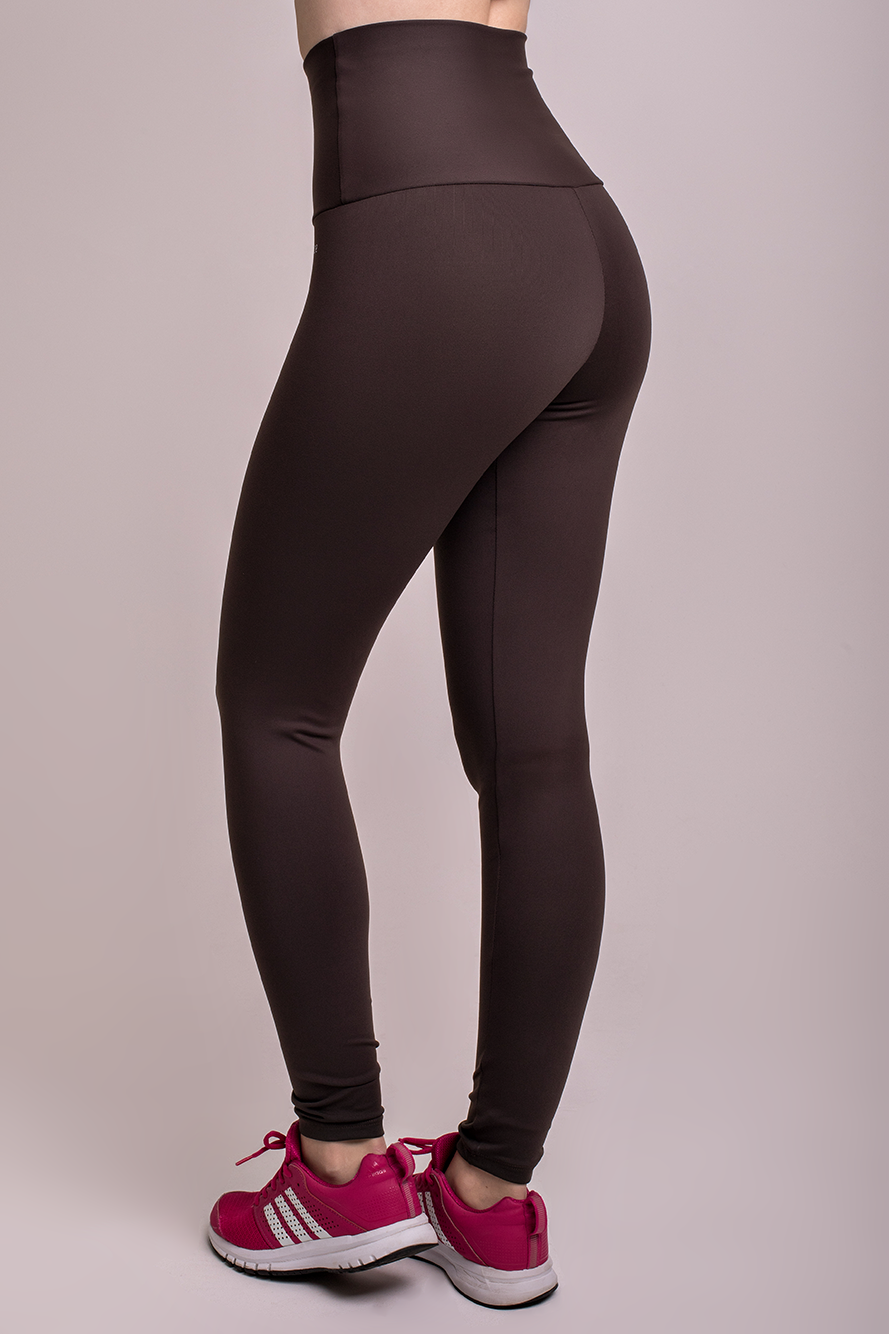 Brown High Up Legging [chicberri]
