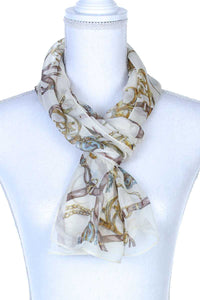 Sheer Oblong Scarf [chicberri]