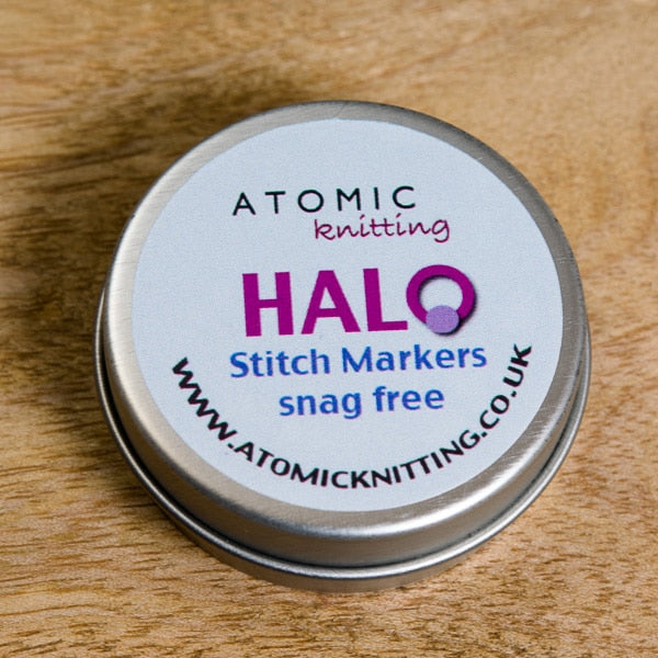 Atomic Knitting Halo Rings
