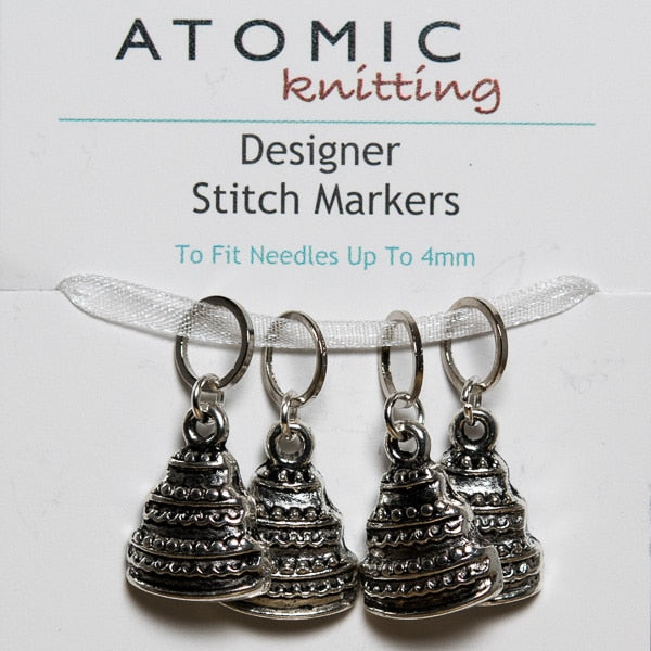 Atomic Knitting Designer Hand Beaded Stich Markers