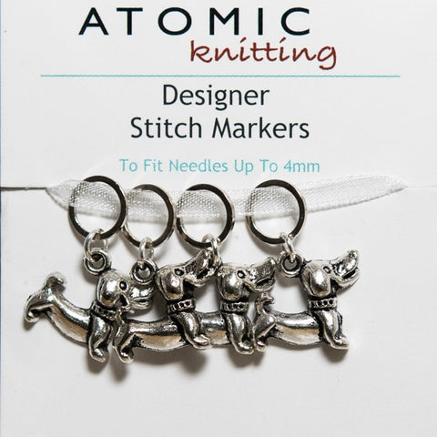 Atomic Knitting Bulb Pin Stich Markers