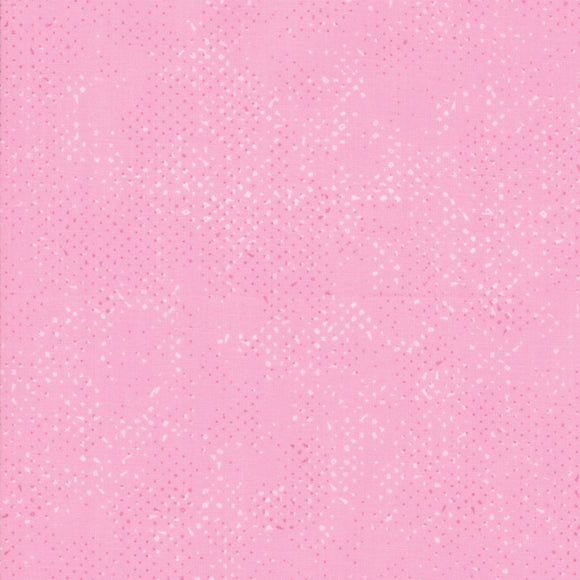 Spotted Pink Yardage by Zen Chic for Moda 1660-19 - PRICE PER 1/2 YARD