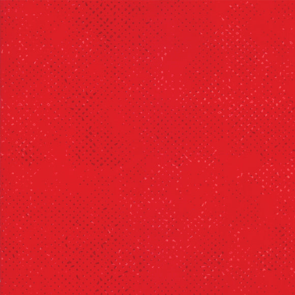 Spotted Christmas Red Yardage by Zen Chic for Moda 1660-29 - PRICE PER 1/2 YARD