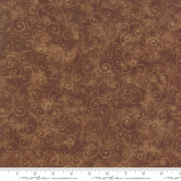 Marble Swirls Chocolate for Moda -9908 81- PRICE PER 1/2 YARD