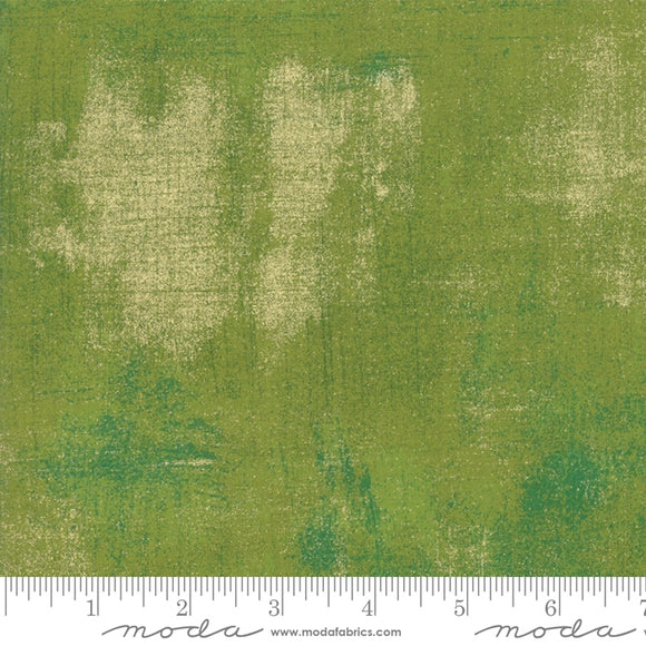 Grunge Zesty Apple Yardage by Basic Gray for Moda - 30150 496M - PRICE PER 1/2 YARD