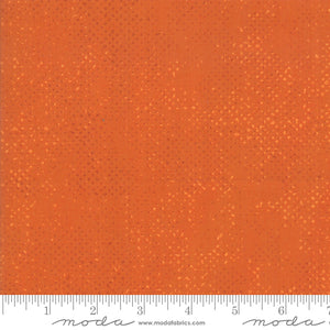 Spotted Pumpkin Yardage by Zen Chic for Moda 1660 61- PRICE PER 1/2 YARD