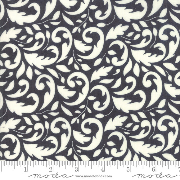 All Hallow's Eve Midnight Yardage by Fig Tree & Co. for Moda - 20351 13 - PRICE PER 1/2 YARD