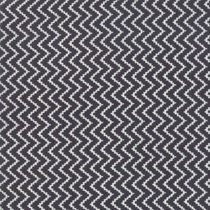 All Hallow's Eve Zigzag Midnight Yardage by Fig Tree & Co. for Moda - 20353 13- PRICE PER 1/2 YARD