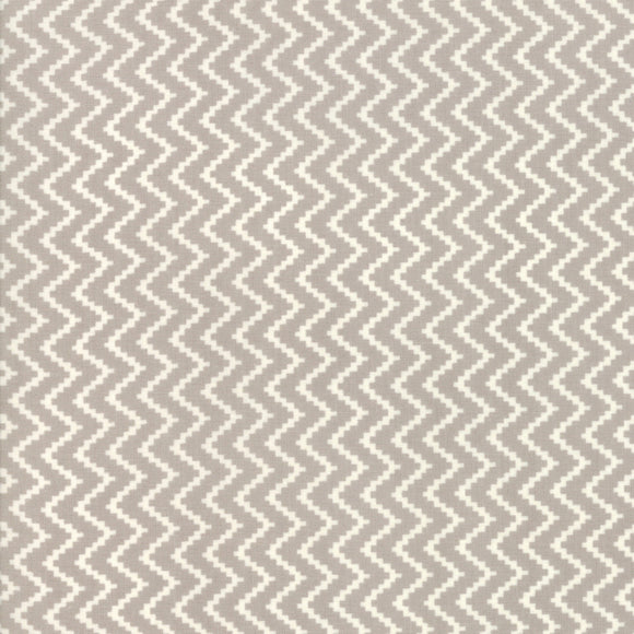 All Hallow's Eve Zigzag Fog Yardage by Fig Tree & Co. for Moda - 20353 15- PRICE PER 1/2 YARD