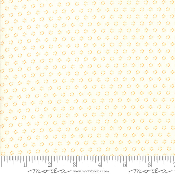 All Hallow's Eve Ghost Pumpkin Yardage by Fig Tree & Co. for Moda - 20354 16 - PRICE PER 1/2 YARD