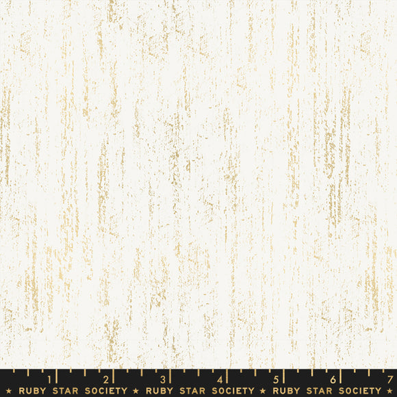 Ruby Star Society Brushed Metallic Gold Yardage by Moda -RS2005 11M - PRICE PER 1/2 YARD