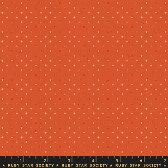 Ruby Star Society Add It Up Rust Yardage by Moda -RS4005 19 - PRICE PER 1/2 YARD