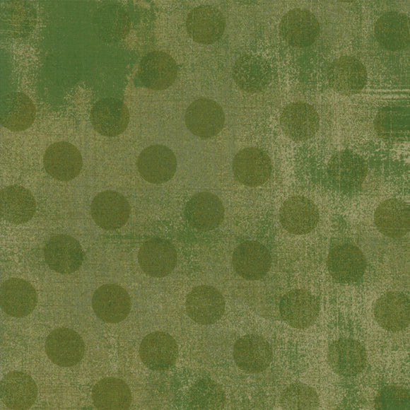 Grunge Hits The Spot Vert Yardage by Basic Gray for Moda - 30149-32 - PRICE PER 1/2 YARD