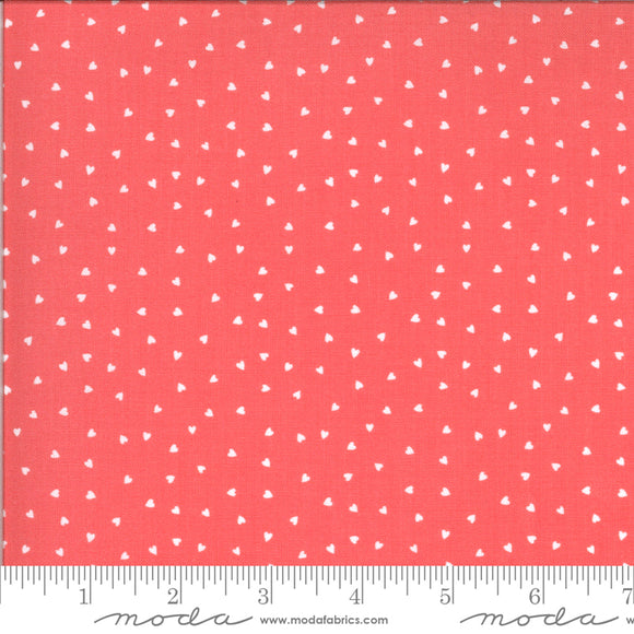 Hello Sunshine Hearts Posie Yardage by Abi Hall for Moda - 35355-15 - PRICE PER 1/2 YARD
