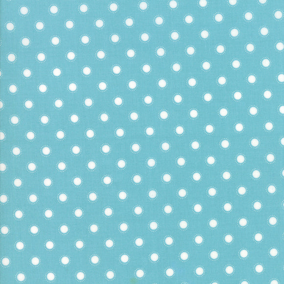 Bloomington Coated ROT Teal Yardage for Moda - 5114 16C  - PRICE PER 1/2 YARD
