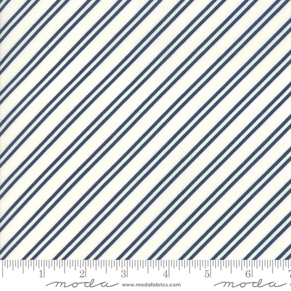 At Home Cream Midnight Yardage by Bonnie & Camille for Moda - 55206 26 - PRICE PER 1/2 YARD
