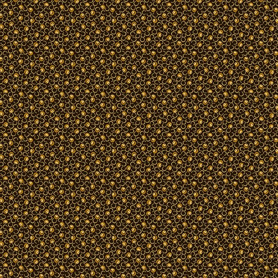 Harvest Moon Black Yardage for Andover Fabrics -A8852KO- PRICE PER 1/2 YARD