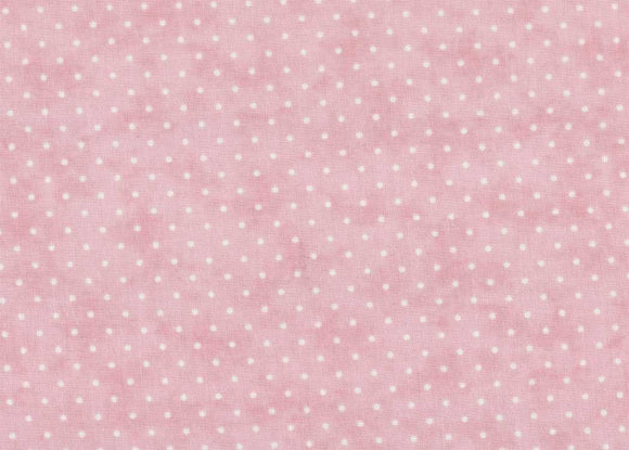 Essential Dots Pink Yardage by Moda 8654-21 - PRICE PER 1/2 YARD