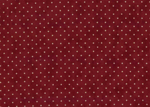 Essential Dots Cranberry Yardage by Moda 8654-29 - PRICE PER 1/2 YARD