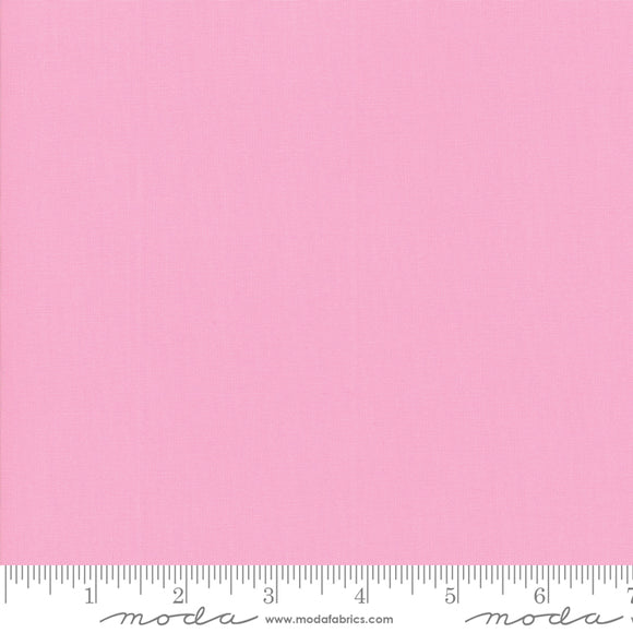 Bella Solids Amelia Pink Yardage by Moda 9900-166 - PRICE PER 1/2 YARD