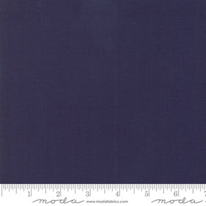 Bella Solids American Blue Yardage by Moda 9900-174 - PRICE PER 1/2 YARD
